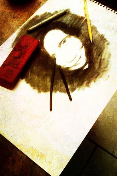 ma photos de profil fb au fusain ^^