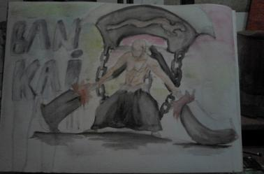 bankai ikaku bleach fan art