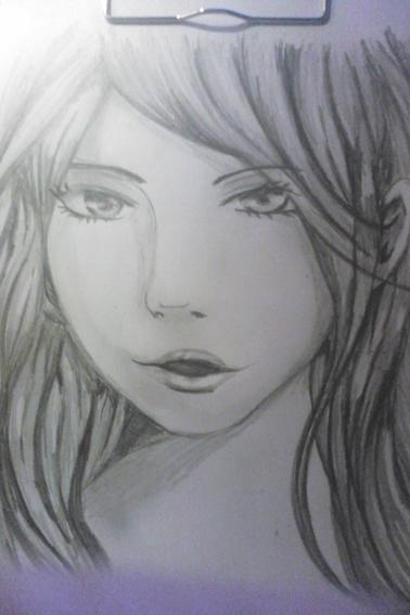 dessin au crayon gris
