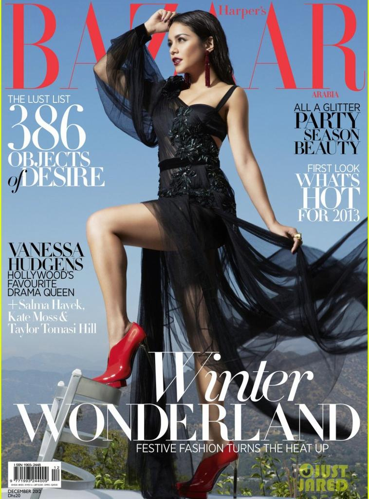 Vanessa pour le magazine Bazaar Arabia