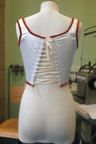 Différents lassage de corset