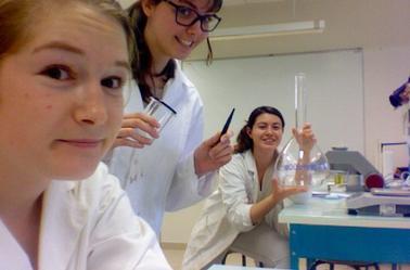 Au labo des Mandailles