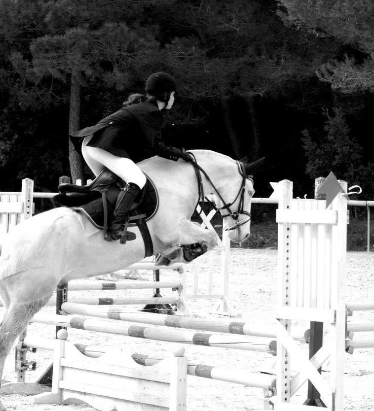 Première concours du poney 2trs