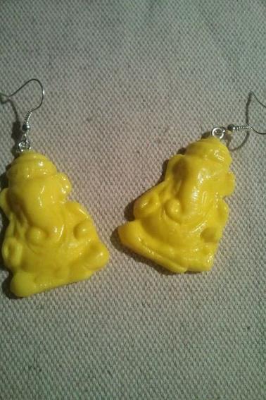 Boucles d'oreille Ganesh ✼