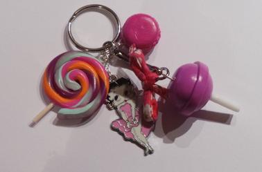 Porte clés Betty Boop ★