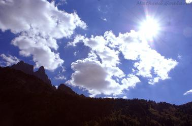 """""""Grandeur montagne,et lac de Bious"""""""
