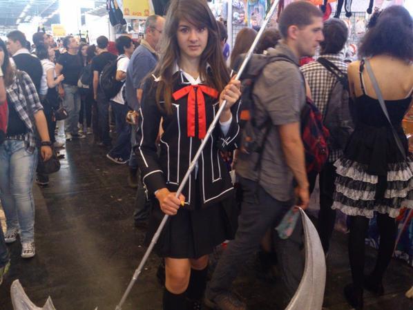Voici quelque cosplay de la japan expo de 2012