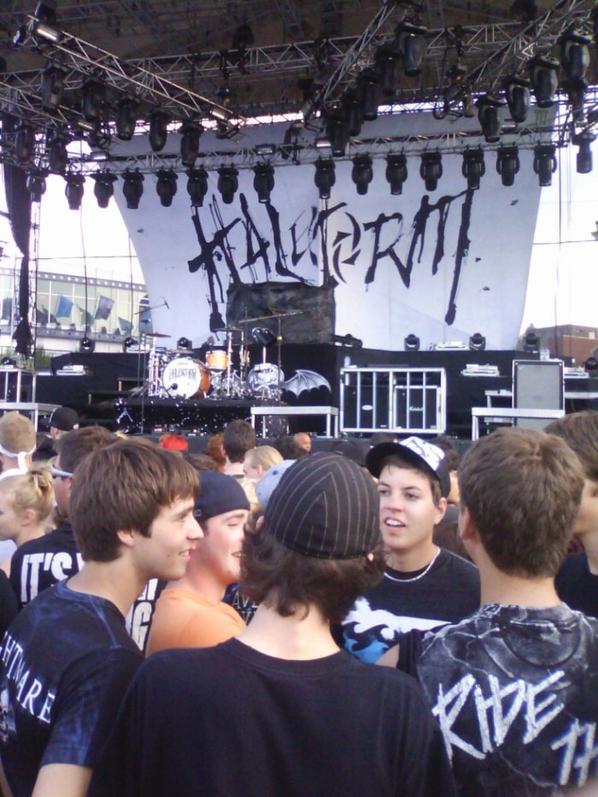 Show d'Avenged Sevenfold à québec