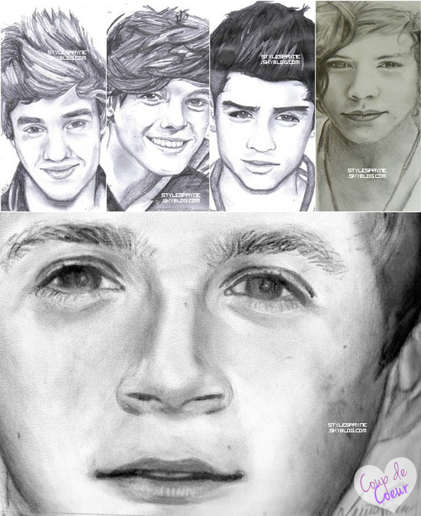 One Diretion -  Dessin