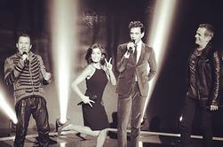 Jeni pour la promo de The Voice, la plus belle voix, Saison 3...Le 11 Janvier sur Tf1 !