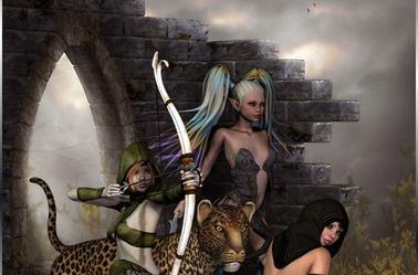 666 GIRLS POWERS METAL GUN 666