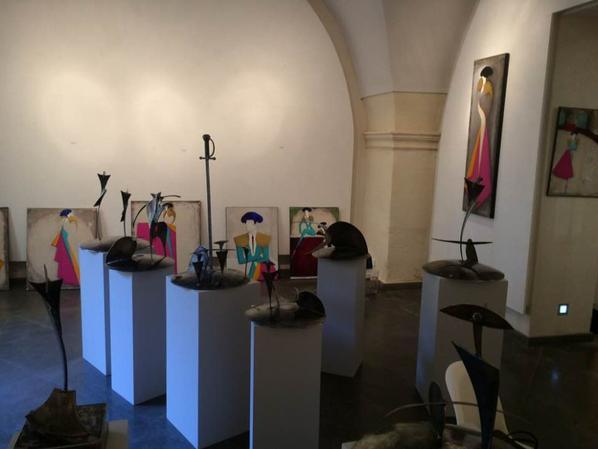Mise en place ce week-end de l'expo Chouleur...FERIA des vendanges NÎMES...