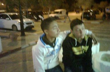 avec mon ami :p :p