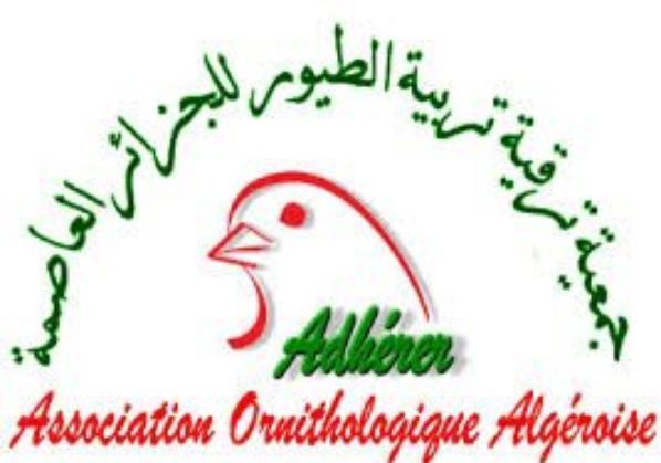 ASSOCIATION ORNITHOLOGIQUE ALGEROISE