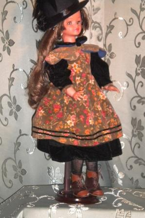 Cathie,brunette en Sisi impératrice enfant..........
