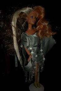 barbie réimplanter avec meches