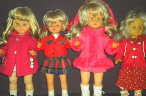 poupée inter active,1BELLA,2GEGE,1eFFe,1 Clodrey
