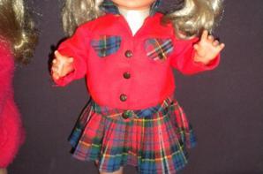 poupée Caroline de GEGE 1958 MARCHE ET PARLE