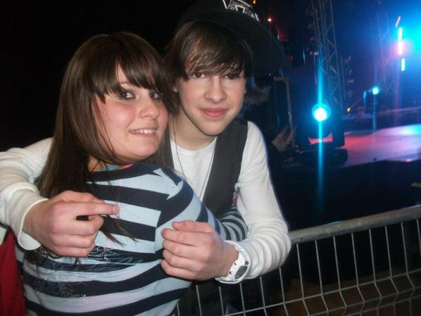 Au spectacle de Jacob le 3/3/1012♥