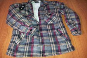 veste polaire doublée fourrure idéal pour ce moi de mai hivernal