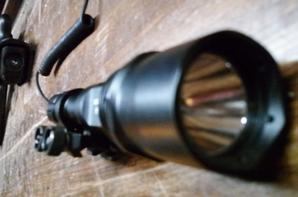 ma nouvelle lampe destinée au m4