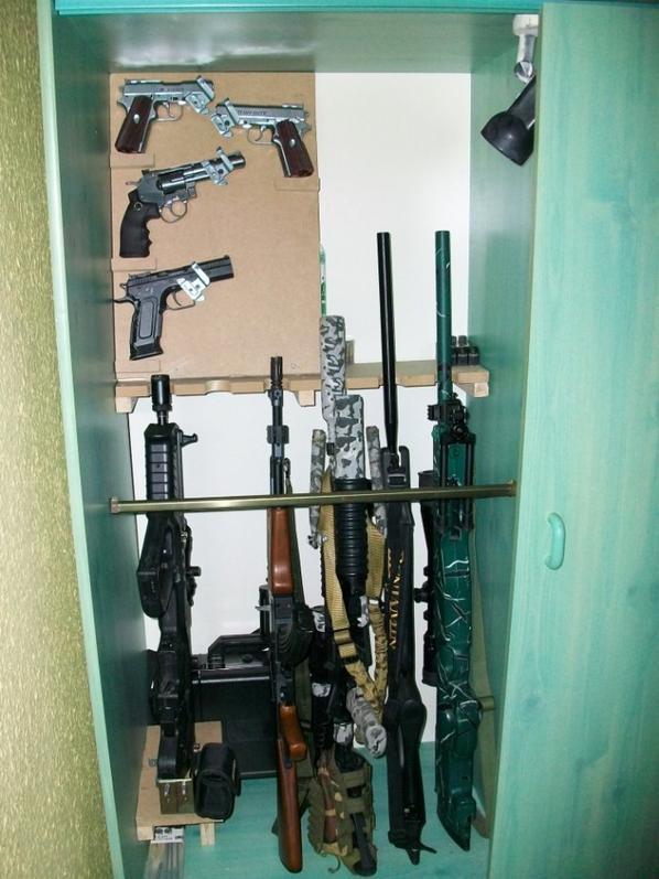 modification d'un coté de mon armoire :P