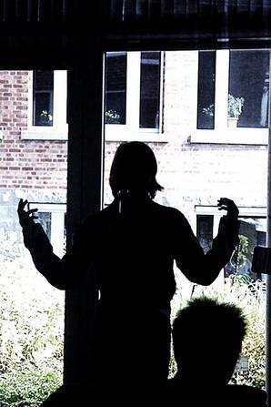 Max Wevan sings for the elderly in August 2011