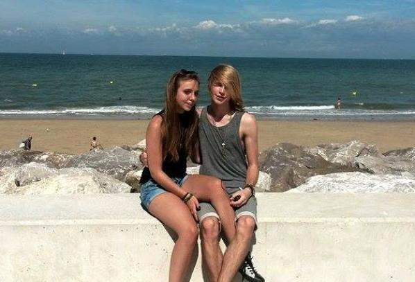 Holidays in France, beach and camping with his ex girlfriend (Summer 2016)