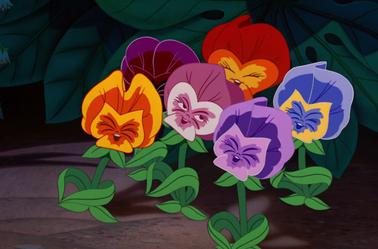 Png Les Fleurs Alice Au Pays Des Merveilles Hd 1021 De L 760