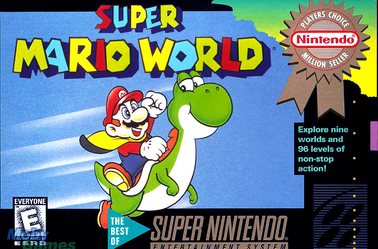 Amélioration Pochettes : Mario & Yoshi, Super Mario World