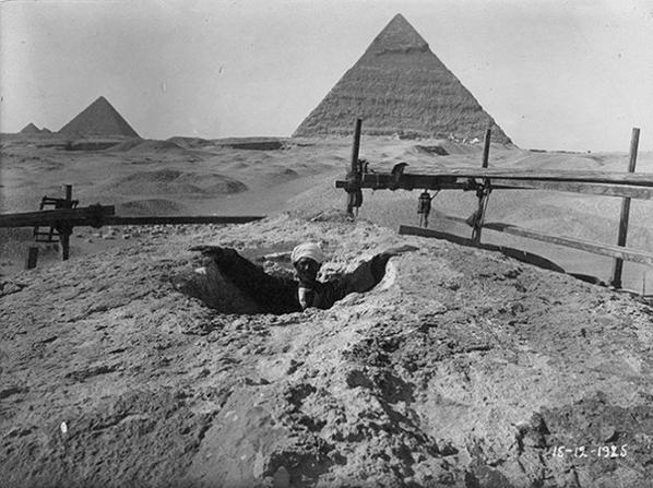 1825 découverte du Sphinx