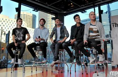 The Wanted à MusiquePlus – 26/11/12 - Part 1