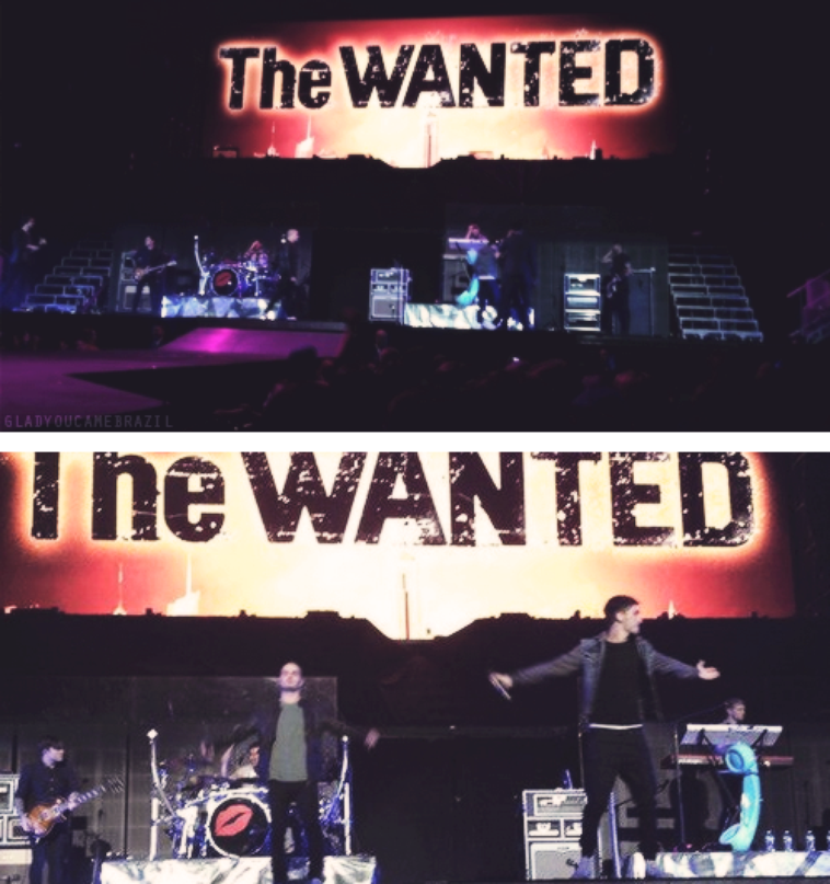 The Wanted à Madison Square Garden