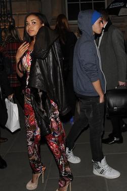 Nathan et Dionne @ PPQ London Fashion Week