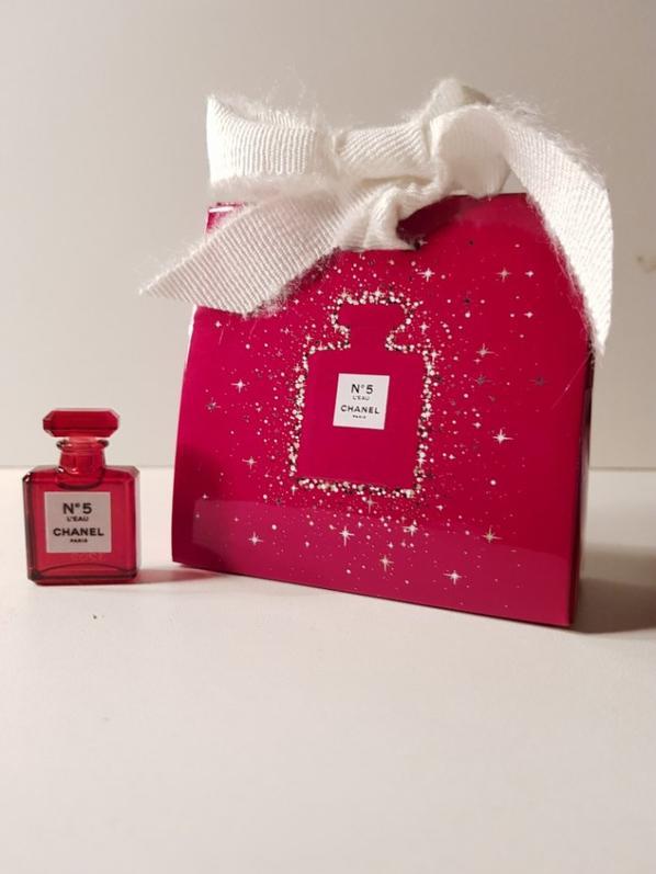 N°5 L'EAU rouge Baccarat 1,5ml Noël 2018