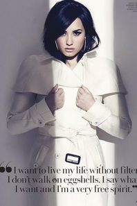 """Demi pour """"Fashion"""" magazine : extraits de l'interview"""