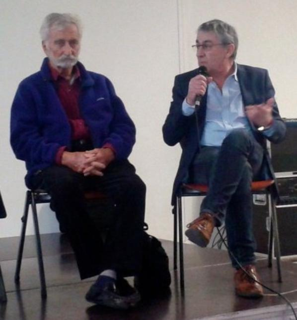 Patrick Denaud avec Bob Maloubier