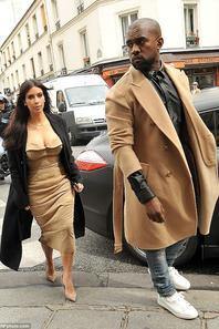 Derniers candids de... Kim Kardashian