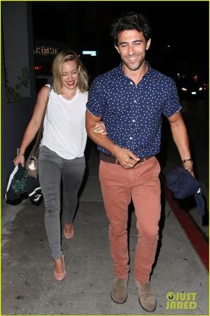 29.05 - Hilary Duff de sortie avec son styliste