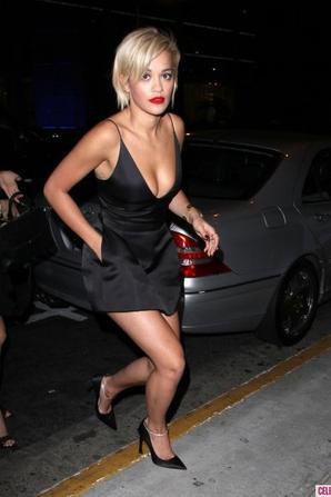06.06 - Rita Ora sort en boite de nuit @ Beverly Hills