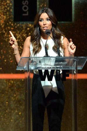 13.06 - Eva Longoria @ Women in Film 2014