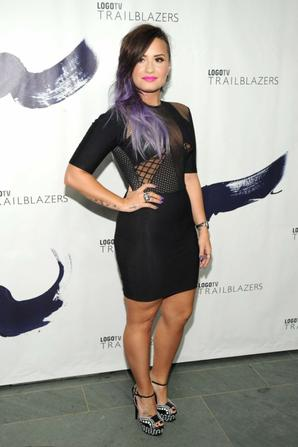 23.06 - Demi Lovato @ Logo TV Trailblazers, NYC