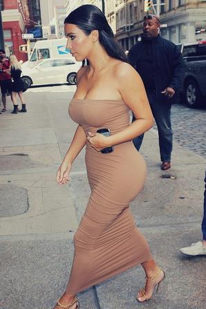 28.06 - Kim Kardashian dans NYC