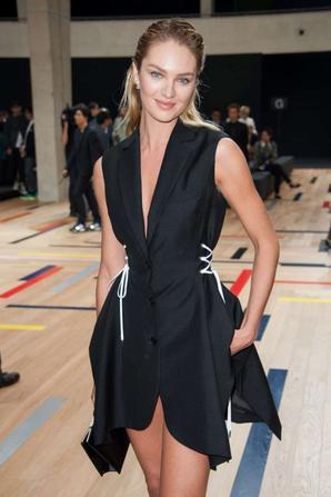 27.06 - Candice Swenapoel @ Paris Fashion Week