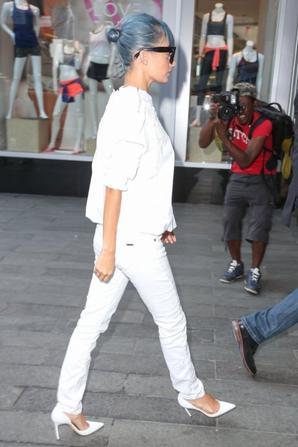 07.07 - Nicole Richie quitte les studios MTV, NYC