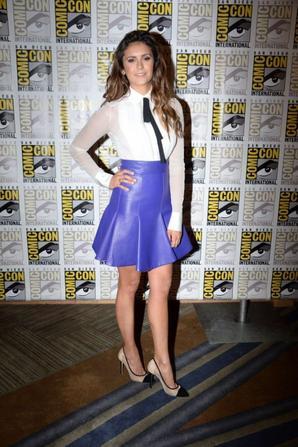 25.07 - Nina Dobrev au Comic Con 2014