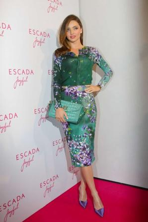 29.07 - Miranda Kerr @ Escada Joyful Roadshow