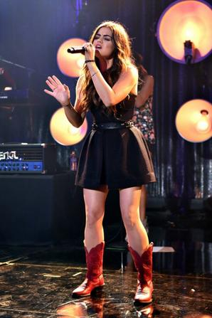 31.07 - Lucy Hale @ iHeartRadio Theater Burbank