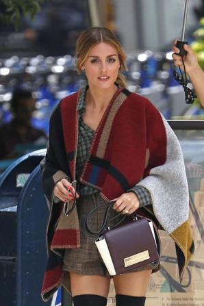 31.07 - Olivia Palermo sur le set d'un photoshoot à New-York