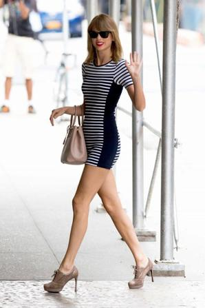 02.08 - Taylor Swift dans NYC